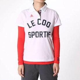 【アウトレット】ルコックゴルフ le coq GOLF レディース ゴルフ セットシャツ QGL1494CP