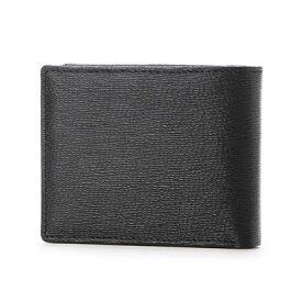 スノビスト SnobbisT フィレンツェレザー二つ折り財布 (ブラック)