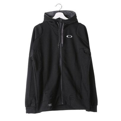オークリー OAKLEY メンズ スウェットフルジップ Enhance Technical Fleece Jacket.QD 1.7 461489JP (ブラック)