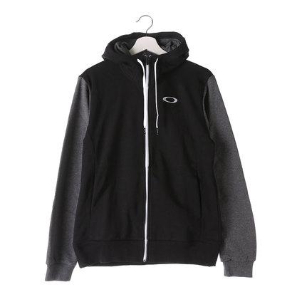 オークリー OAKLEY メンズ スウェットフルジップ Circular Technical Fleece Jacket 5.7 461490JP (ブラック)