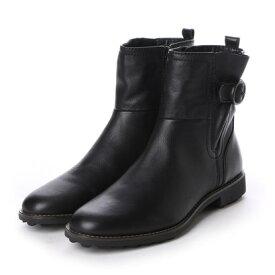 【アウトレット】イング ing ショートブーツ ING1183 (ブラック)