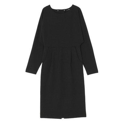 【アウトレット】エモダ EMODA BACK OPEN DRESS OP (ブラック)
