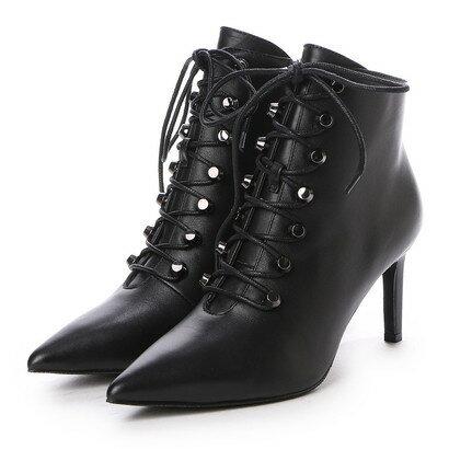 【アウトレット】NW0SOLEIL ショートブーツ (BLACK)