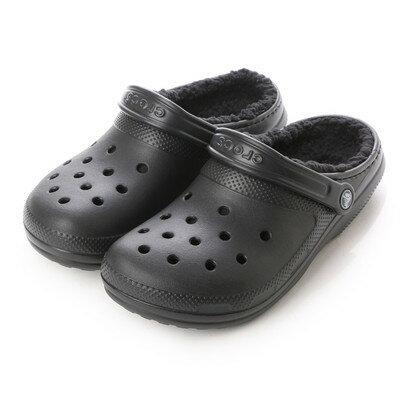 クロックス crocs ユニセックス クロッグサンダル Classic Lined Clog 203591-060 (Black/Black)