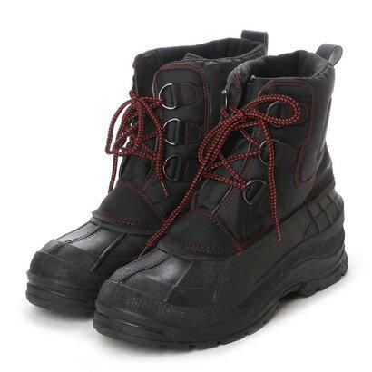 ワールドウォーカー WorldWalker ウインターシューズ 防寒ブーツ BB-1011 ブラック 0219 (ブラック)