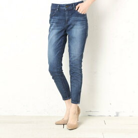ゲス GUESS MARILYN 3-ZIP SKINNY DENIM PANT (DARK BLUE)【JAPAN EXCLUSIVE ITEM】