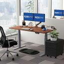 FlexiSpot オフィスデスク 電動式スタンディングデスク 書房書斎テーブル 高さ調節ワークテーブル 天板140*70cm