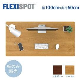FlexiSpot フレキシスポット スタンディングデスク用天板 テーブルDIY天板パソコンデスク用100*60cm PR1006(EG1/EF1/H1シリーズ対応のみ)
