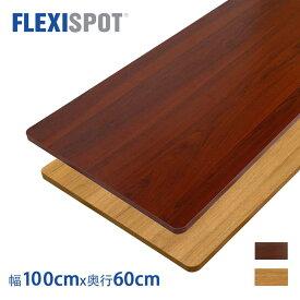 【2/1メープル予約販売】FlexiSpot フレキシスポット スタンディングデスク用天板 テーブルDIY天板パソコンデスク用100*60cm 二色選択 PR1006(E1シリーズ対応のみ)