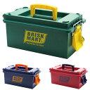BRISK MART ツールボックス 工具入れ 工具箱 収納ボックス プラスチック製 DIY用 DIY工具箱 ガレージ かわいい おしゃ…