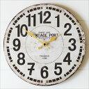 OLD LOOK 壁掛け時計 VINTAGE 木製 掛け時計 ウォールクロック インテリアクロック アンティーク ビンテージ レトロ …