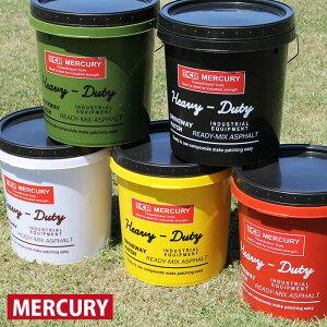 マーキュリー MERCURY プラスチックバケツ 蓋付き ばけつ バケツ ふた付 フタ付き 洗車 収納ボックス ごみ箱 ガーデニング アメリカン雑貨 カラフル おしゃれ