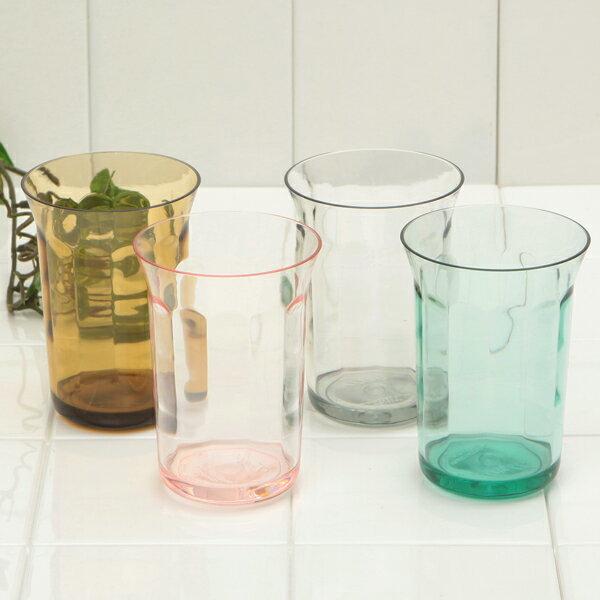 本物のガラスのような雰囲気あふれる質感アンティーク感がおしゃれ♪タンブラー/洗面用コップ・歯磨き用コップ【トロール】