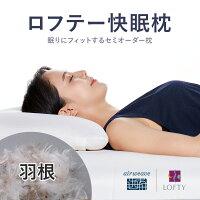 ロフテー快眠枕(羽根)
