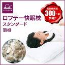 ロフテー 快眠枕 羽根(天然素材) 5つのユニット連結で高さ調節できる頸部支持構造枕