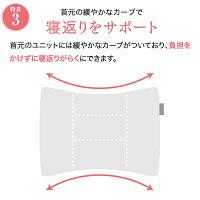 ロフテーが追求したストレートネックにも対応する枕「ソフィットピロー」エラスティックパイプ(やわらかめ素材)
