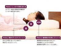 快眠枕スマートまくらやわらかいふわふわふかふかloftyロング肩首腰頚椎横向き仰向け横寝安眠快眠健康返品保証送料無料おすすめ高級