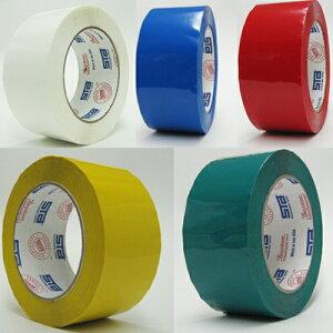 セキスイ OPPテープ エバーセルOPPテープ カラー 36mm×100M 1ケース48巻【青 赤 黄 白 緑】(梱包  引越し 養生 梱包資材 梱包用品 こんぽう)