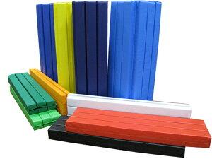 セーフティマット ロールマット 10B-2W 25mm厚 1000mm×200mm 2つ折れ 青 緑 黄 黄緑 スカイブルー 赤 オレンジ 黒 濃緑 濃青