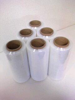 司化成ストレッチフィルムダイヤストレッチBB1818ミクロン500mm×300M【1ケース6】(ストレッチフィルム梱包ラップ梱包資材梱包用品)