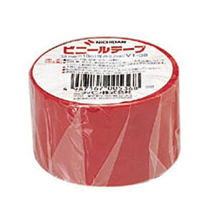 ニチバン ビニールテープ VT-38 38×10M 5巻入り【透明 赤 黄 緑 青 白 黒 橙 灰】(ビニールテープ  梱包 引越し 梱包資材 梱包用品 電気絶縁テープ)
