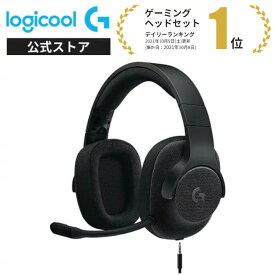 Logicool G ゲーミングヘッドセット 有線 G433BK 高音質 7.1ch Dolby 3.5mm usb 軽量 ノイズキャンセリング 単一性 着脱式マイク PC/PS5/PS4/Switch/Xbox/スマホ 国内正規品 2年間無償保証