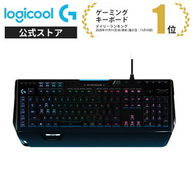 Logicool G ゲーミングキーボード 有線 G910r タクタイル メカニカルキーボード 日本語配列 LIGHTSYNC RGB パームレスト G910 Spectrum 国内正規品 2年間無償保証
