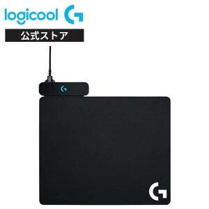 Logicool G ゲーミングマウスパット POWERPLAY 無線充電対応 G502WL/G-PPD-002WLr/G903h/G703h/ ハード クロス 2種類のマウスパット同梱 G-PMP-001 国内正規品 2年間無償保証