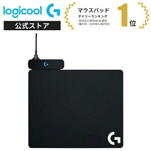 Logicool G ゲーミングマウスパッド POWERPLAY 無線充電対応 G502WL/G-PPD-002WLr/G903h/G703h/ ハード クロス 2種類のマウスパット同梱 G-PMP-001 国内正規品 2年間無償保証