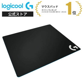 Logicool G ゲーミングマウスパッド G640r クロス表面 大型サイズ 国内正規品 1年間無償保証