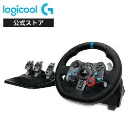 Logicool G ステアリングコントローラー G29 PS4/PS3/PC ハンドル ドライビングフォース LPRC-15000d 国内正規品 2年間無償保証 ステッカー特典付き ハンコン