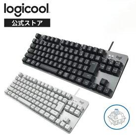 ロジクール 有線 メカニカルキーボード K835GPB K835OWB 青軸 クリッキー テンキーレス メカニカル キーボード 有線 有線キーボード K835 国内正規品 2年間無償保証