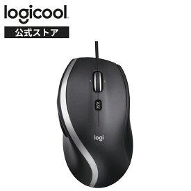 ロジクール 有線 マウス M500s 高速スクロールホイール 7ボタン USB ブラック 有線マウス 4000dpi M500 windows mac chrome 国内正規品 2年間無償保証