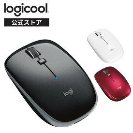 ロジクール ワイヤレスマウス M557 無線 薄型 マウス Bluetooth 6ボタン M557GR M557RD M557WH 国内正規品 3年間無償保証