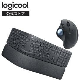 【お得なセット品】ロジクール エルゴノミック キーボード マウス [ K860 + M575S ]