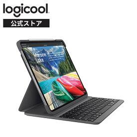 ロジクール iPad Pro 11インチ 第1世代 対応 キーボード iK1173 ブラック Bluetooth キーボード一体型ケース ブラック SLIM FOLIO PRO 国内正規品 2年間メーカー保証