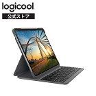 ロジクール iPad Pro 11 インチ 第1世代 第2世代 対応 Bluetooth キーボード 英語配列 薄型 ケース 一体型 iK1174A バックライト付 国内正規品 2年間メーカー保証