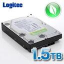 ロジテック 3.5インチ 内蔵ハードディスク HDD ウェスタンデジタル「WD AV-GreenPower」ドライブ採用 1.5TB 【LHD-DA1500SA...