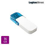 ロジテックUSBメモリ16GBUSB3.1Gen1(USB3.0)ホワイトフラッシュメモリーメール便対応【LMC-16GU3WH】
