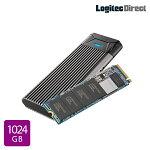 ロジテックM.2内蔵SSD換装キット1024GB変換NVMe対応データ移行ソフト付【LMD-SMB1024UC】