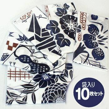 日本手ぬぐい和柄10枚