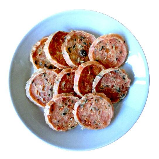 国産(北海道産)鶏ササミと野菜チップ10枚●犬猫用●送料164円指定可