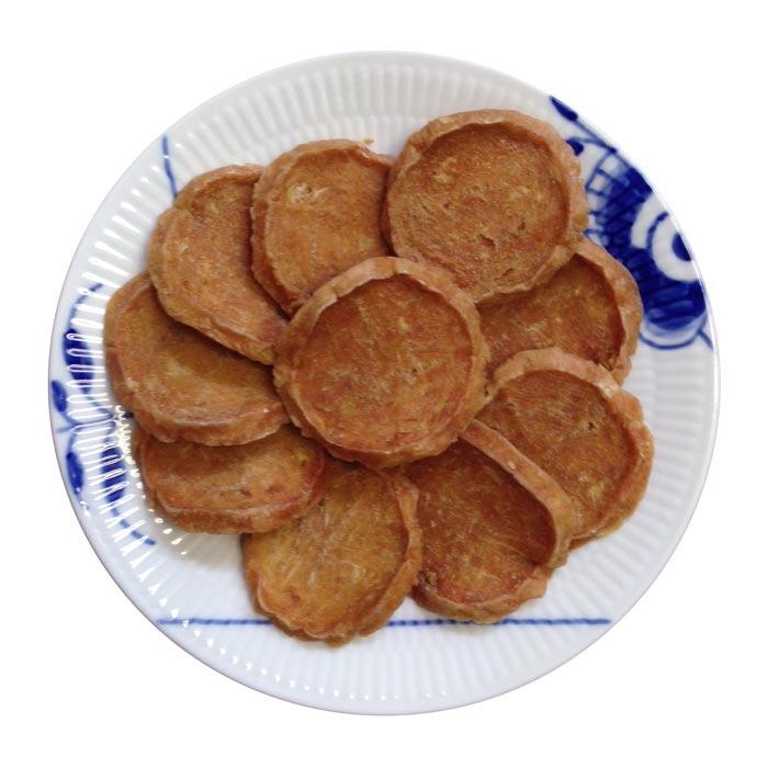 国産(北海道産)鶏ササミ100%の純製チップ10枚●犬猫用●送料164円指定可