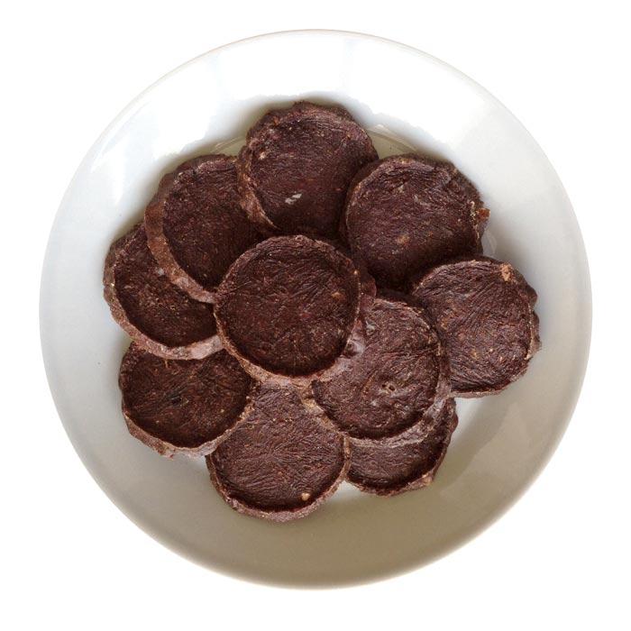 国産(北海道産)馬肉ビーフチップ10枚●犬猫用●送料164円指定可