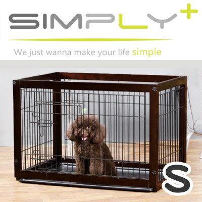 【メーカー直送品】木製サークル Simply Palace Supreme シンプリーパレススプリーム 犬猫用 ペット用 Sサイズ