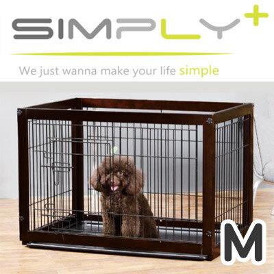 【メーカー直送品】木製サークル Simply Palace Supreme シンプリーパレススプリーム 犬猫用 ペット用 Mサイズ