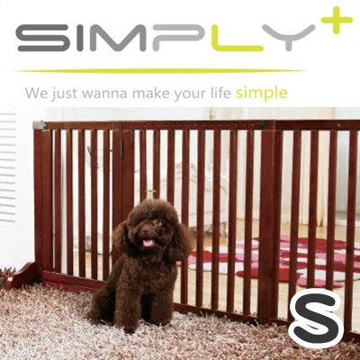 【メーカー直送品】木製ゲート Simply Shield Supreme シンプリーシールドスプリーム 犬猫用 ペット用 Sサイズ
