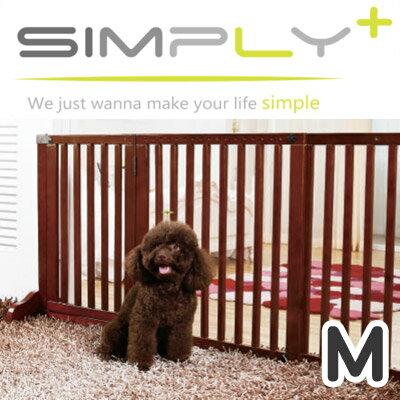 【メーカー直送品】木製ゲート Simply Shield Supreme シンプリーシールドスプリーム 犬猫用 ペット用 Mサイズ