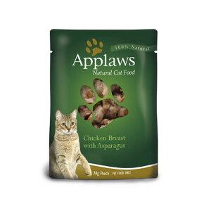 【正規輸入品】アプローズ 鶏の胸肉とアスパラガスのブイヨン(ブイヨン) 猫用 70g