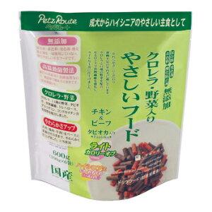 ペッツルート クロレラ・野菜入りやさしいフードライト 犬用 600g(100g×6袋)